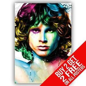 BUY 2 GET ANY 2 FREE JIM MORRISON THE DOORS POSTER BB33 PHOTO PRINT A4 A3 SIZE