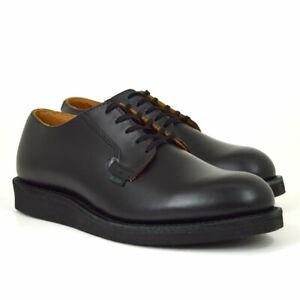 Red-Wing-Shoes-00101-Postman-101-Halbs-Black-Chaparral-Schwarz-Leder-Neu