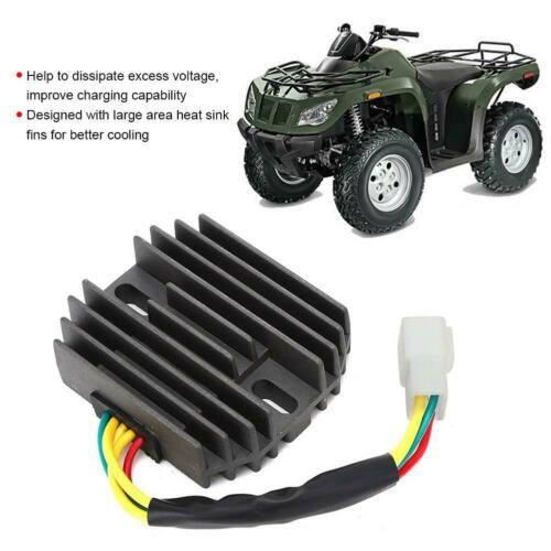 Aluminum Voltage Regulator Rectifier 3430037 For Arctic Cat 400 500 Bearcat 454