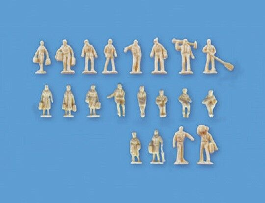 fdec21a4c2f5 N Gauge Unpainted Figures Set B – Model Scene 5157 - Post for sale online