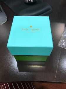 BRAND-NEW-Kate-Spade-New-York-WATCH-BOX-INCLUDES-Pillow-amp-Instruction-Book
