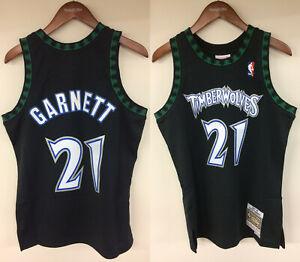 check out 06fe6 ecbd6 Details about Kevin Garnett Minnesota Timberwolves Mitchell & Ness NBA 1997  Authentic Jersey