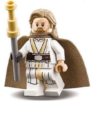 Lego Star Wars The Last Jedi Ahch To Island Luke Skywalker Minifigure 75200 Ebay