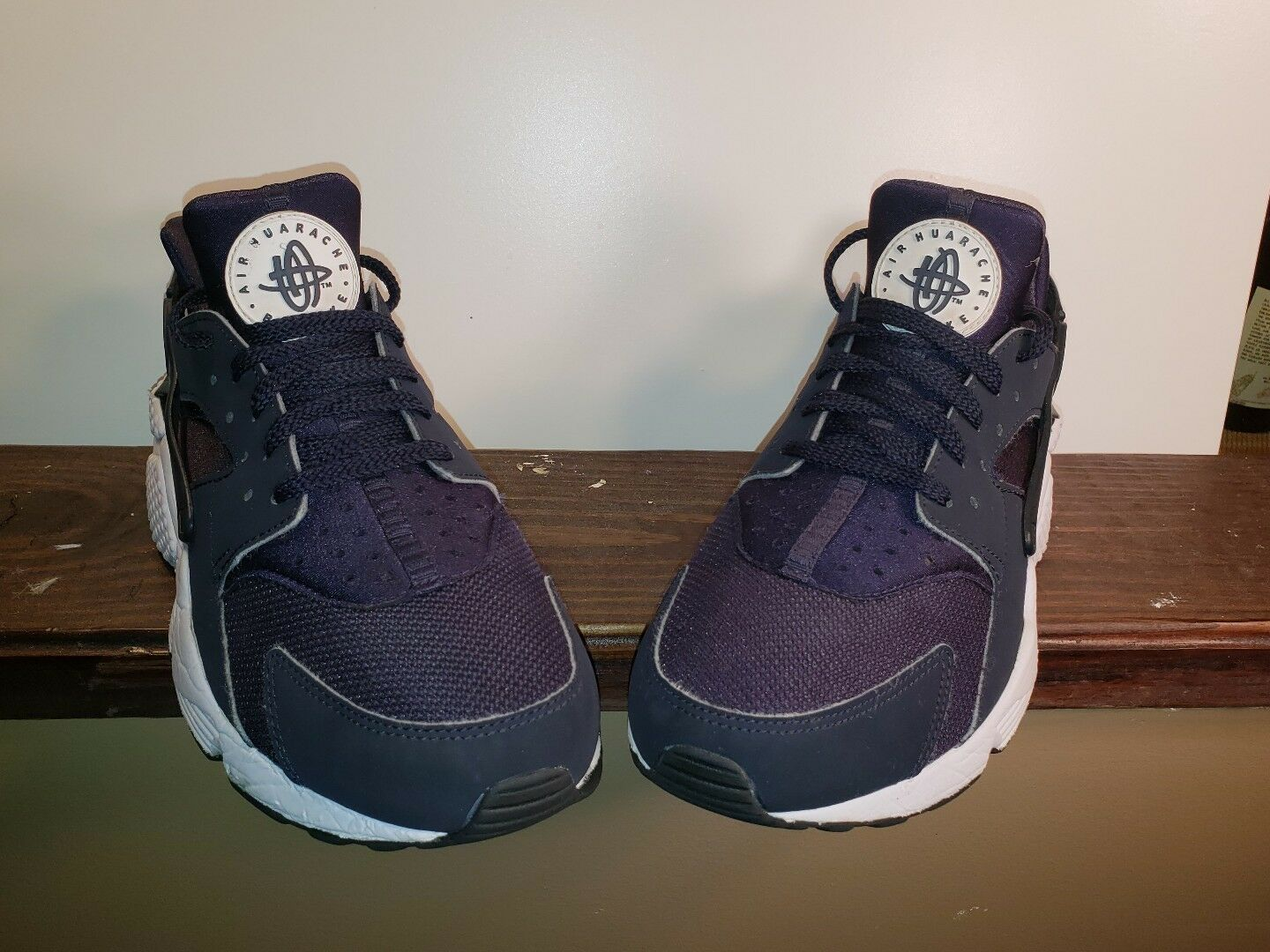 Nike Air Huarache Run Obsidian Blue White Comfortable