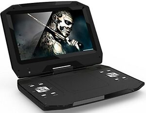 Details about New Blu-Ray DISC/DVD Player Swivel Screen Maxmade Portable  13 3