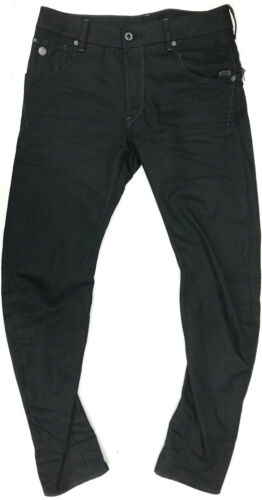 GStar Jeans ARC ZIP 3D SLIM Black LOOK NEW W30 L32 Mens Boys