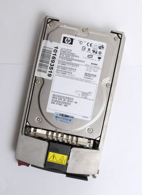 HP 146 GB disco rigido hdd disco rigido SCSI-SCA 80-pol- 3,5 pollici bd14688278