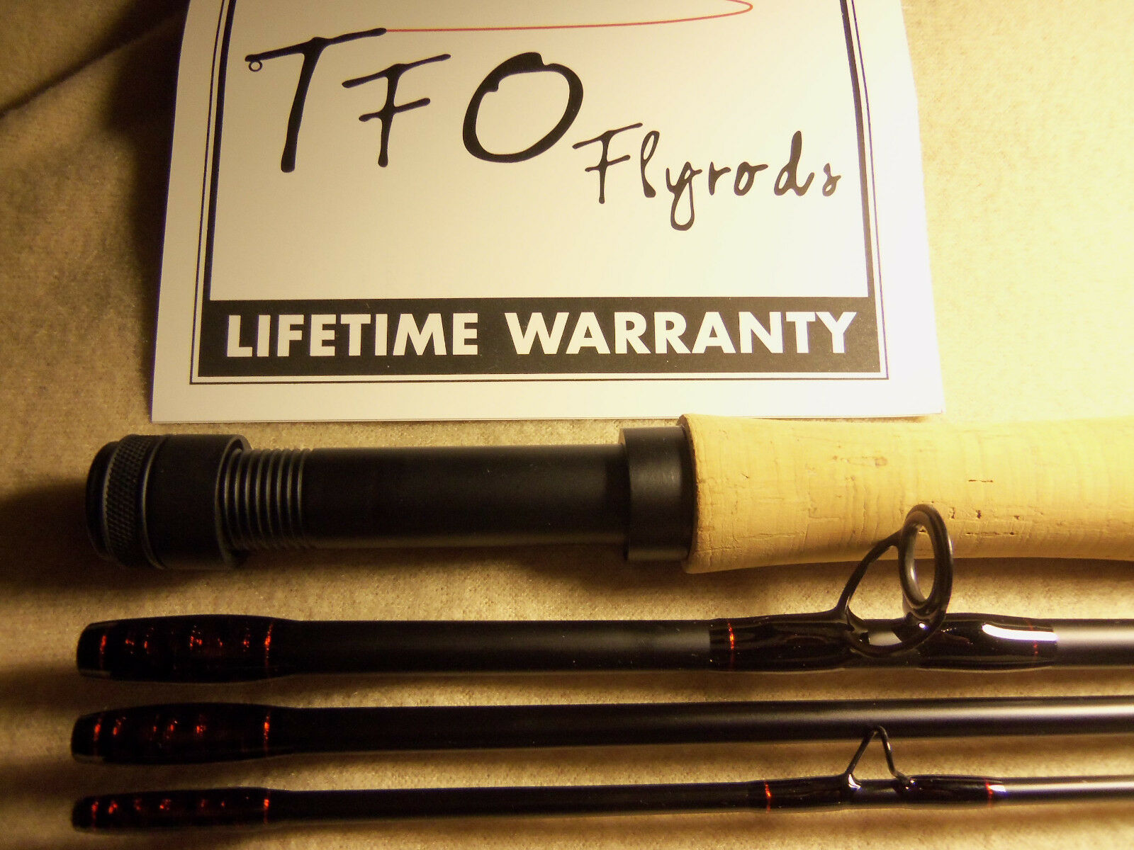 Temple Fork Outfitters Profesional II Tfo 9' 6 peso mosca caña personalizado