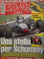 Auto & Sport ROMBO 37 1997 con doppio MAXI poster Fisichella e Schumacher
