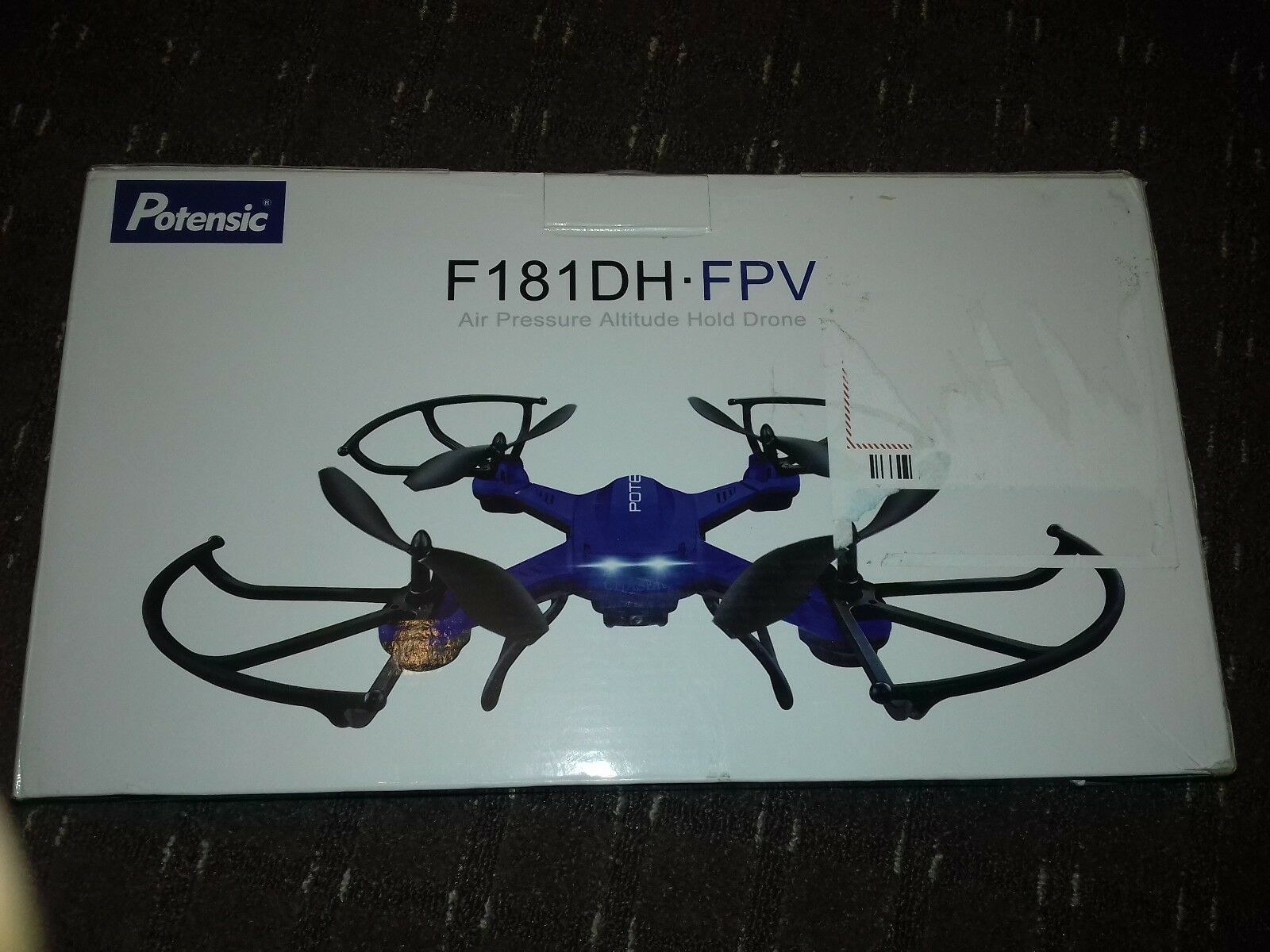 Drone with HD Camera, Potensic F181DH RC 5.8Ghz FPV Quadcopter