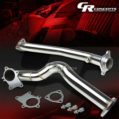 STAINLESS RACING TURBO DOWNPIPE DOWN PIPE EXHAUST 00-09 S2000 AP1//AP2 F20C F22C1
