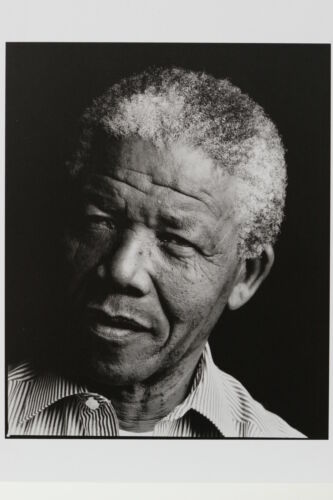 """ANNIE LEIBOVITZ /""""Nelson Mandela/""""  Kunst-Postkarte"""
