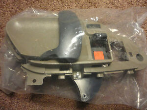 Inside door handle chevy gmc tahoe suburban yukon brown left driver 1995 1999 for 1999 suburban interior door handle