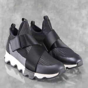 fcd3f8c5979 NIB SOREL 1776271010 Black KINETIC SNEAK Running Shoes Women s Sizes ...