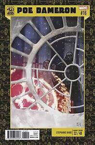 Star Wars Poe Dameron # 18 40th Anniversary Cover NM
