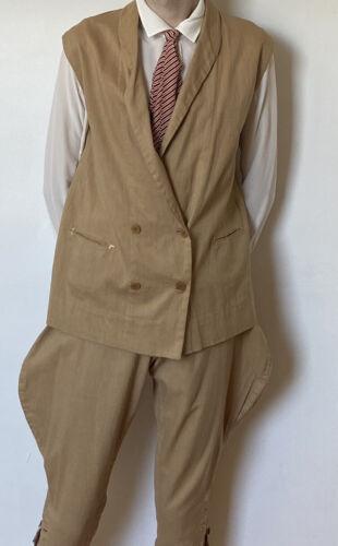 Vintage 1920s Equestrian Sportswear Jodhpurs Suit