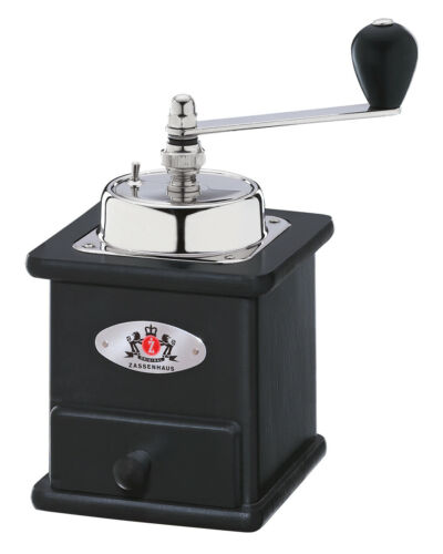 Zassenhaus Kaffeemühle Kurbelmühle Handmühle Mühle Brasilia schwarz neu