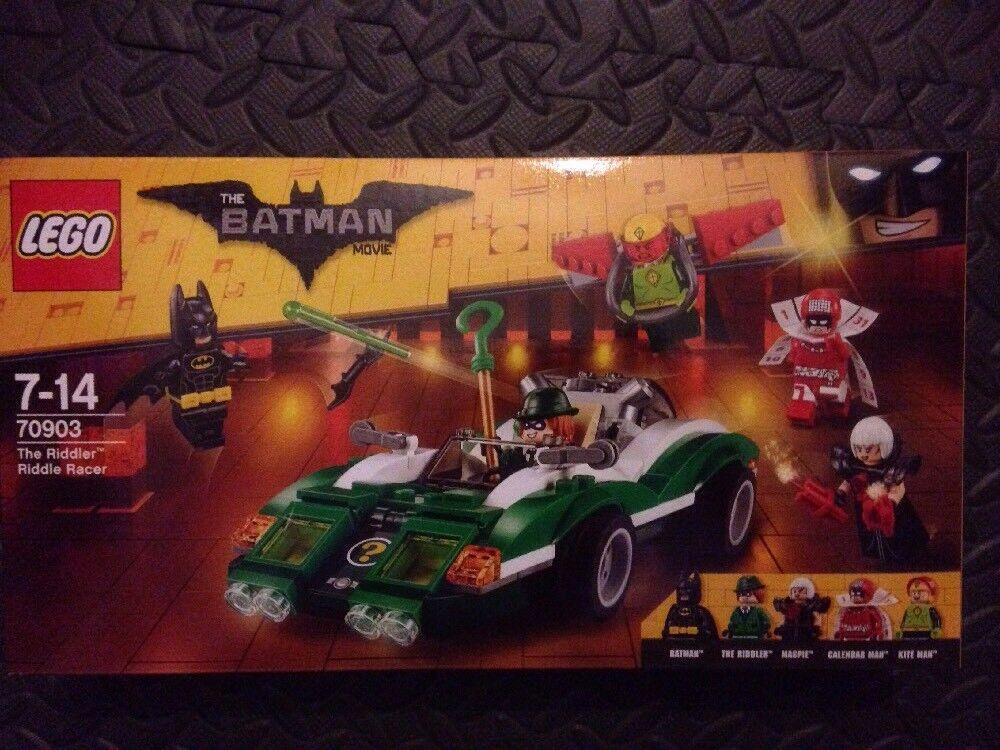Lego Batman The Riddler Riddle Racer Set 70903