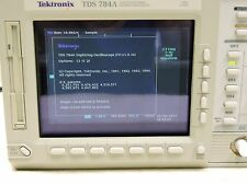 Tektronix TDS784A 784A 1GHz 4GS/s Color Opts 13 1F 2F With 4 Probes