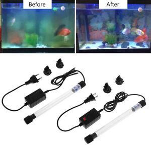 Aquarium-Sterilizer-Light-UV-Lamp-Fish-Tank-Bactericide-UV-Disinfection-Purifier