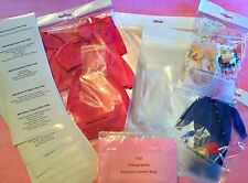 Vintage BARBIE Archival Quality Clothes DISPLAY BAGS 1963 Be Organized! Lot