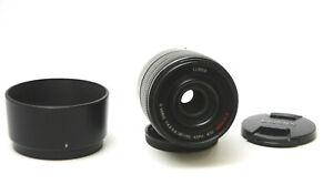 Panasonic Lumix G Vario 45-150mm f/4-5.6 ASPH Mega OIS Used EX w/ Hood,Caps