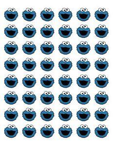 48-COOKIE-MONSTER-ENVELOPE-SEALS-LABELS-STICKERS-1-2-034-ROUND