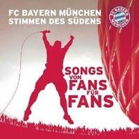 """FC BAYERN MÜNCHEN STIMMEN DES SÜDENS """"STIMMEN DES SÜDENS"""" CD NEU"""