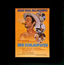 Der Schlaufuchs ORIGINAL Kino-Dia / Film-Dia / Diacolor / Jean-Paul Belmondo