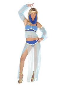 Harem-Hottie-Costume-M-10-12-uk-Fancy-Dress-Present-Elegant-Moments-Belly-Dancer
