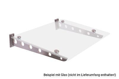 1 Paar Flach Vordachsystem Vordach Türvordach Den Speichel Auffrischen Und Bereichern Herzhaft Vordachhalter Edelstahl Vf-750