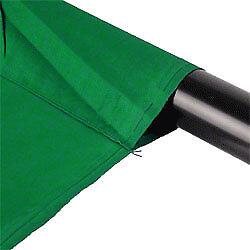 túnel 2,85x6m uni verde incl Walimex tela de fondo 100/% algodón 140g//m²