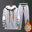 NEW-Mens-Michael-Air-23-Jordan-Tracksuit-Hoodie-and-Pants-Men-Sportswear thumbnail 4
