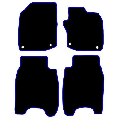 Honda Civic Tailored Voiture Tapis de sol 2008-12 Noir Avec Bordure Bleue