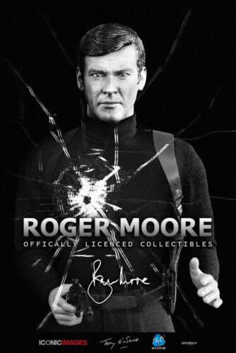 Dragon DREAMS a échelle 1//6 Moderne Britannique Roger Moore james bond 007 RM001