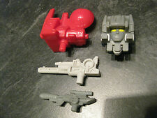 FORTRESS MAXIMUS SPIKE BOTH SMALL GUNS AND RADAR LOT G1 VINTAGE TRANSFORMER!