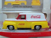Johnny Lightning - Coca-cola Delivery Services - '56 Ford F-100 Panel Delivery