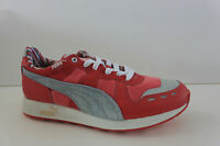 Puma Women's Rs100 Shoe Pink Canvas Synthetic & Leather Athletic Size 7.5 M