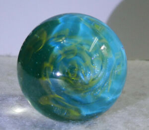 #11269m Handmade Contemporary Vortex Style Marble 1.03 Inches *Mint*