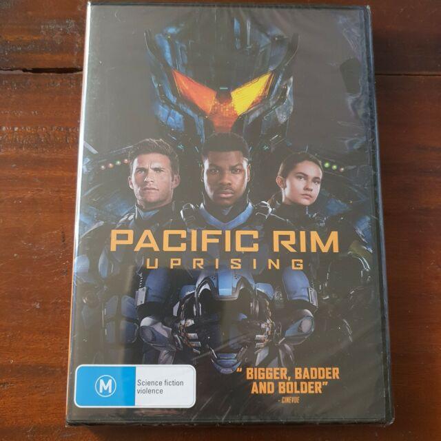 Pacific Rim Uprising DVD Region 4 Brand New.