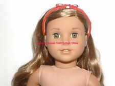 Gold Bow Headband 18 in Doll Clothes Hair Accessory Fits American Girl  #A