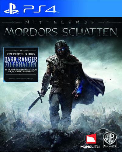 Sony PS4 Playstation 4 Spiel ***** Mittelerde: Mordors Schatten *********NEU*NEW