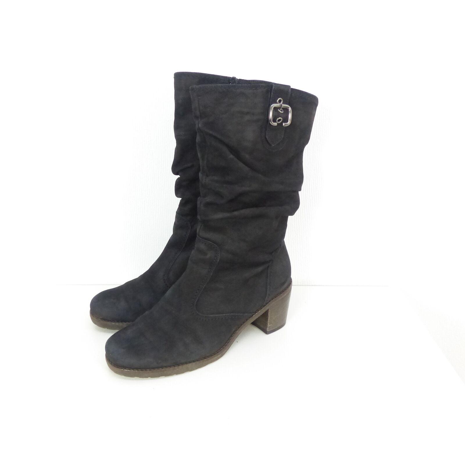 GABOR Stiefel Boots Leder black Gr. (T9)