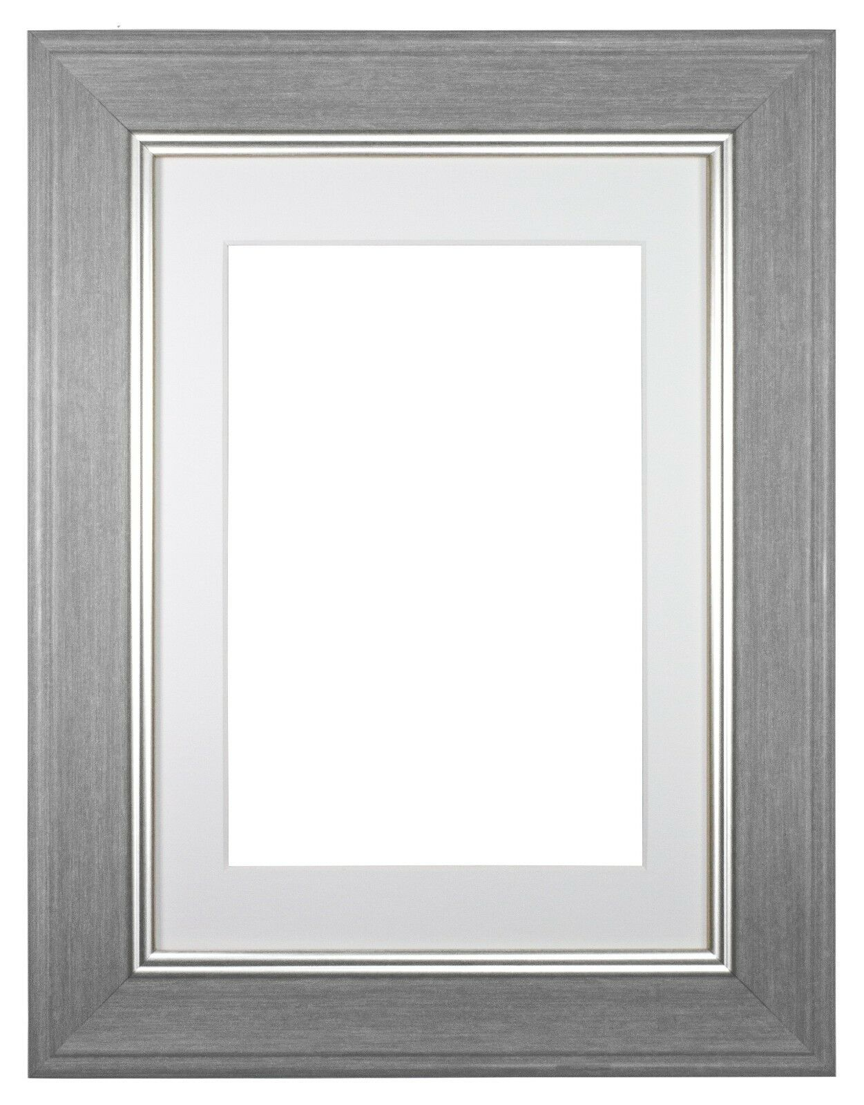 Shabby Chic Picture Frame Photo Frame Poster Grey Dark