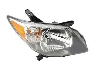 Image Is Loading 2003 2004 Pontiac Vibe Headlight Headlamp Black Housing