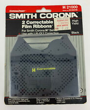 New Listing2 Pack New Genuine Smith Corona H Series 21000 Correctable Typewriter Ribbons