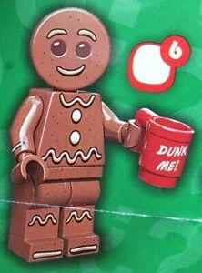 * Gingerbread Man * Lego Minifigures Series 11 * Tout Neuf ScellÉ * Collectionneurs 71002 Disponible Dans Divers ModèLes Et SpéCifications Pour Votre SéLection