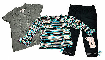Girls New outfit by Little Lass 2 piece set summer clothing 12-18-24 Months