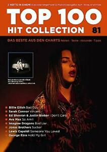 Top-100-Hit-Collection-81-Songbook-Gesang-Klavier-Keyboard-Gitarre