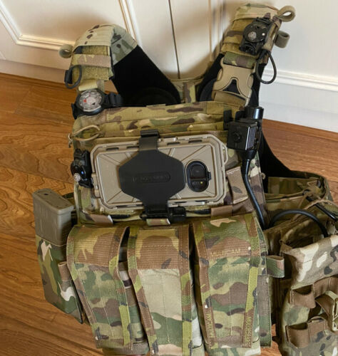 TMC3479 Molle S7 Model Mobile Phone Cover Case Pouch Carrier for Tactical Vest